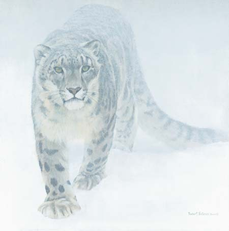 My animal would be a snow leopard and the weapon would be a RPG-7.