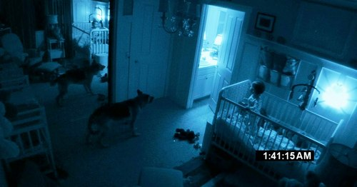 I REALLY REALLY REALLY wanna see Paranormal Activity 2!!! Im not a scary movie fan at all, Im too much of a scaredy cat, but I saw the first Paranormal Activity & I loved it, and I want to see the 2nd one too :] Man I kinda scared myself just looking for this picture o_O