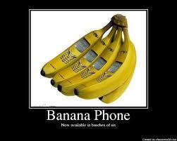 U upendo banana, ndizi phones!!!!