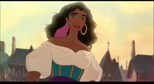 Imo,it's Esmeralda.