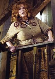 Molly Wealey She killed Bellatrix, She's a nag, and shes way too overprotective of Harry.