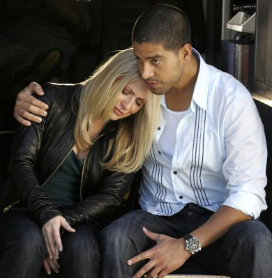 im not sure. i dont think anyone is for sure... but i sure hope sooo they are sooo CUTE together!
