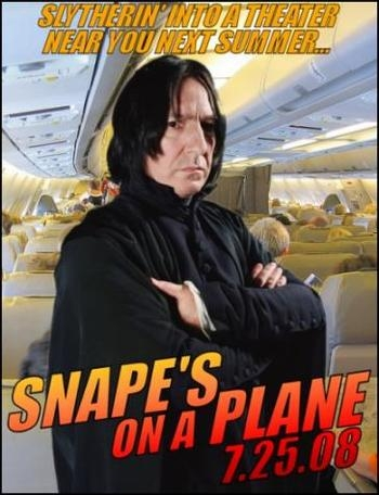 I'm a shabiki of HP and of course of Snape!!!!! <3