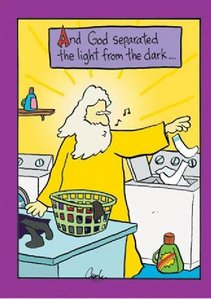 This is from an e-mail my aunt sent me that had a bunch of religous comics in it. If this offends anybody, I'm sorry, but it shouldn't because I'm Catholic and find it funny.