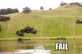 Fußball Fail
