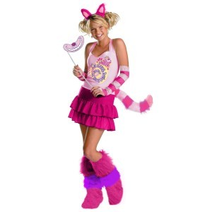 like 5 ppl have already asked this, haven&#39;t they??? anyways, i finally have an answer...i&#39;m gonna be the cheshire cat... sooo awesome!!! <3 <3 <3