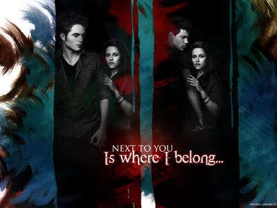 it is really weird to say but....... jacob is like 17-19 and Rennseme is only a child and jacob is in love with her that is kinda wrong also he had a huge crush on Bella so it's kinda awkward. i feel bad for Edward :(