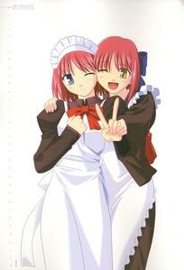 Kohaku&Hisui from Shingetsutan Tsukihime they are cool!!!