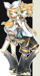 """i guess i'd have to say kagamine rin and len from vocaloid.they r so cute,especially in the video """"vocaloid ievan polkka."""" i think you can watch it on youtube,last time i checked."""