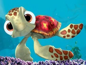 Four words Squirt from Finding Nemo