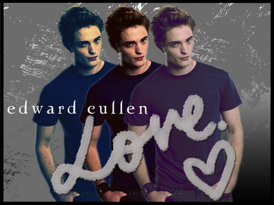EDWARD CULLEN!!!! he is just everything i ever wanted in a man...sweet, charming, loving, hot, smart, funny, i could go on and on :p