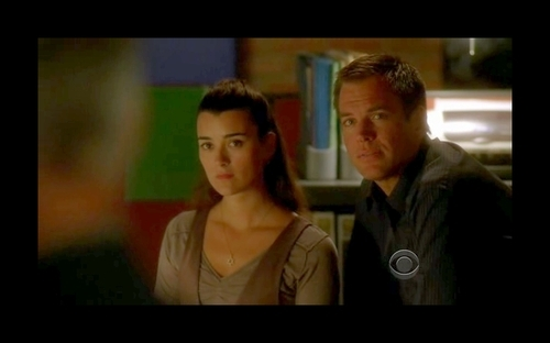 """Tony and Ziva.   Because he jeopardized his entire career for her and crossed continents to avenge her """"death"""" and told her that he couldn't live without her. Because even after everything they've been through, they're stronger than ever and nothing will come between them. Because he's always had her back no matter what, he's glad that someone can make her smile and he wants to protect her.   HE THINKS SHE'S PRICELESS."""