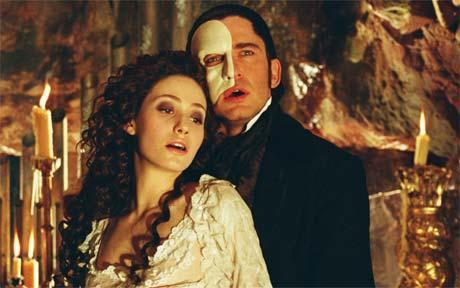 the phantom from phantom of the opera. (stupid i know but i pag-ibig that movie. . .)