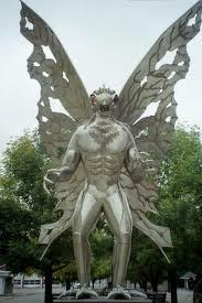 I have seen ghost of all kinds,aliens and UFOs, the jersey devil, nessie the lochness monster, bigfoot prints, and of course mothman in pleasent point, pensilvania. This is mothman statue in pleasent point! l l l l l l V