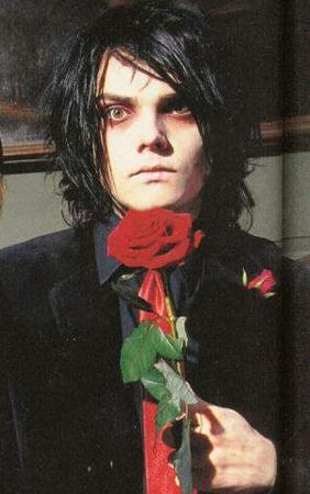 I didn't do it but Gerard Way did...he may look innocent but he's not