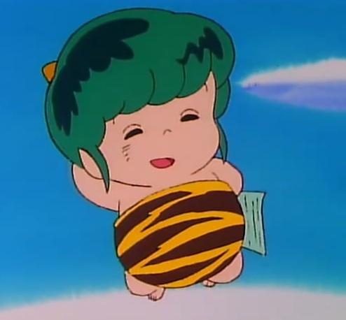 Ten from Urusei Yatsura. :) Since he's an alien, I thought he might count as a creature.