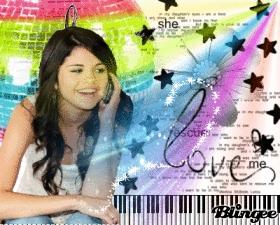 I made this myself (: Selena rocks <33