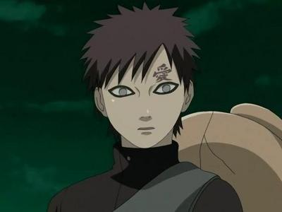 Gaara from Naruto. He's proof of just how meaningful a single influence can be.