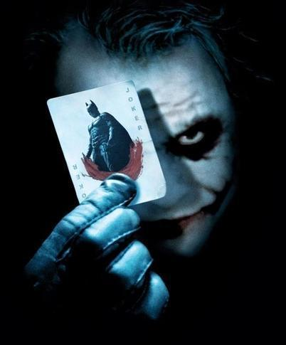 Heath Ledger joker baby! XD which I can thank this tunjuk on YouTube called 'The HillyWood show' for.