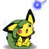 Pichu in Ash's bag X3