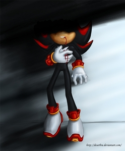 """I'd be like: """"noooooo! Shadow!!!!!"""" Then I'd try to bring him back and be sure to get revenge on whoever killed him, but I would miss him! :("""