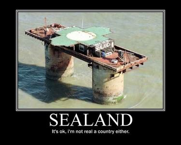 england is cool but sealand is epic