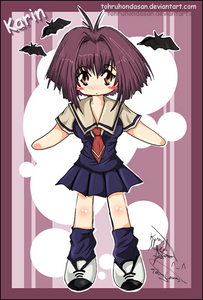 L ♥ vampires and L ♥ karin (chibi vampire)