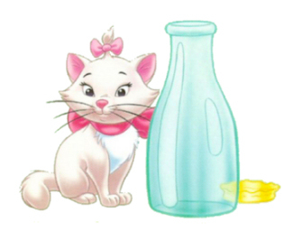Marie from the Aristocats....she's so sweet <3