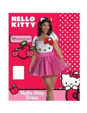 i did dress up and i was hello kitty :D
