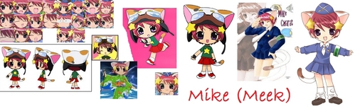 Mike (Meek) from Di Gi Charat.