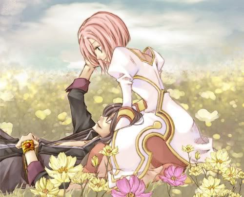 Yuri and Estelle from Tales of Vesperia they are cute xD
