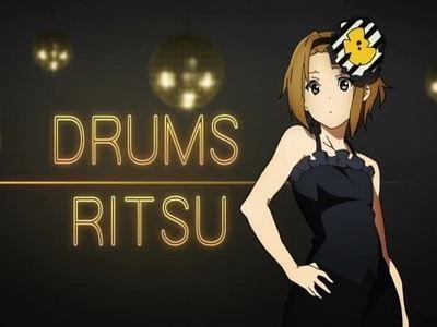 Ritsu Tainaka From K-on!