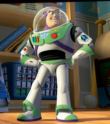 """Name: Buzz Light Year. Nick Name: Astronaut ломоть He's Hot Right ;] Ha.Honestly This is the stupidest """"Question"""" I've ever come across on Fanpop."""