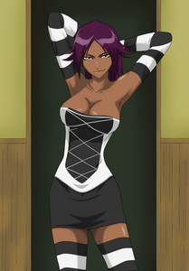 Yoruichi from Bleach my all time paborito <3