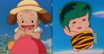 Cutest Boy: Ten from [i]Urusei Yatsura[/i]  Cutest Girl: Mei from [i]My Neighbor Totoro[/i]