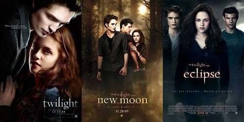 the twilight saga. and i don't care if there's haters.