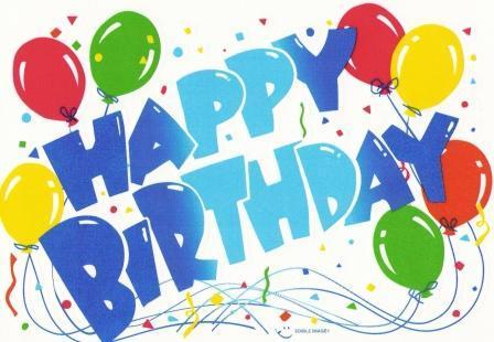 Happy birthday! Best wishes! :)