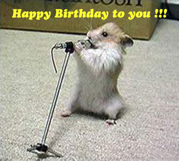 happy birthday!Im gona sing wewe a song!!