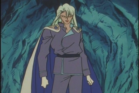 I know alot, but one is Kunzite from Sailor Moon...