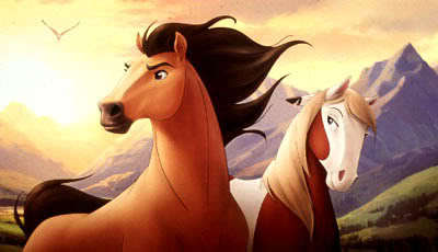 My favorito! movie ever is: Spirit:Stallion Of The Cimmeron <3