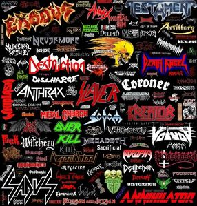 METAL!!!!!!!!!!!!!!! can you guess which is my fav band