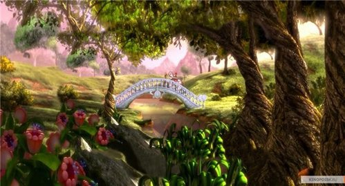 The Bloom's planet Domino in Winx Club movie 2