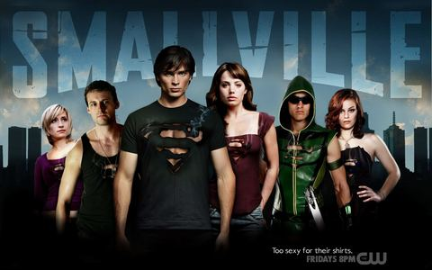"It was the TV Показать ""Smallville"". That's why I joined !"