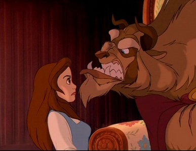 Iam going to sound lke a broken record but anyway Belle and the Beast are my all time favorit couple ^^