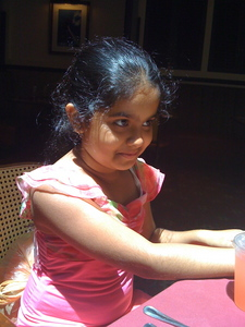 My bestie Prithvi. :) btw this is a picture of her from a long time ago. I just think she's cute in it. ;)