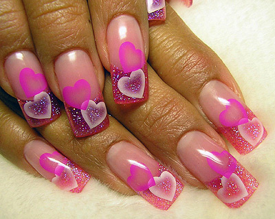 rose is my favori :) I also like purple and electric blue :) These nails are so pretty ↓