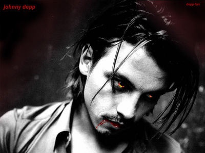 i want to see johnny as a wolfman and vampire he's already playing vampire role named barnabas collins in dark shadows coming out in 2012 and i m so excited for that movie woooohooooooo....uhm so now i want to see him as a wolfman au as a spy in a full ACTION movie(like mission impossible)....YEAH! B-)