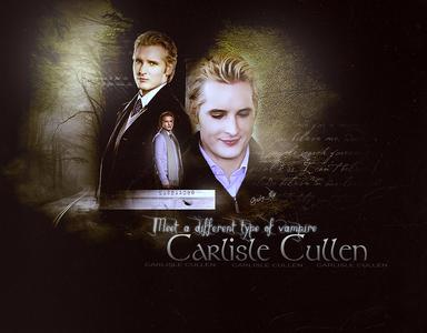 Fav Vampire: Emmett Fav Werewolf: Paul Fav Character: Carlisle