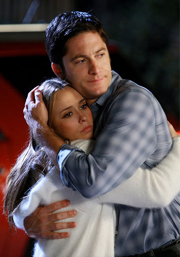 Melinda & Jim from Ghost Whisperer They're like the perfect couple, and trust me I'm not a shipper at all. I actually try to avoid that but I just can't help but adore them.