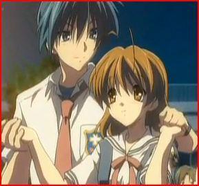 Tomoya Okazaki and Nagisa Furukawa from [i]Clannad[/i]. <3